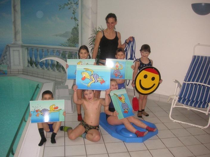 Schwimmen lernen mit der Bilder-Methode.